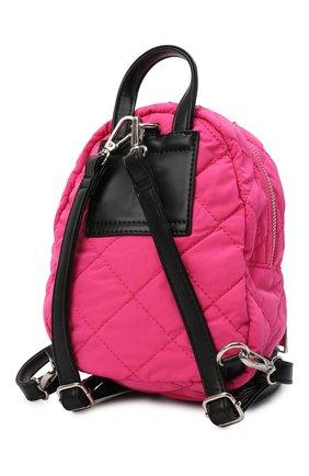 Детская рюкзак MSGM KIDS фуксия цвета, арт. MS027724   Фото 2 (Материал: Текстиль)