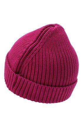 Детского хлопковая шапка OFF-WHITE фуксия цвета, арт. 0GLC003F21KNI001 | Фото 2 (Материал: Текстиль, Хлопок)