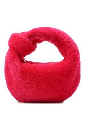 Женская сумка jodie mini BOTTEGA VENETA розового цвета, арт. 680697/V1C20   Фото 1 (Материал: Натуральный мех; Размер: mini; Женское Кросс-КТ: Вечерняя сумка; Сумки-технические: Сумки top-handle)