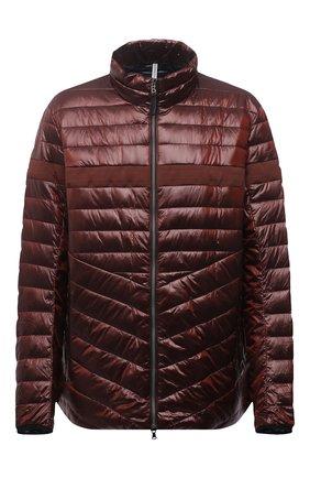 Мужская утепленная куртка BOGNER красного цвета, арт. 38436549   Фото 1 (Материал подклада: Синтетический материал; Материал внешний: Синтетический материал; Кросс-КТ: Куртка; Стили: Кэжуэл; Big sizes: Big Sizes; Длина (верхняя одежда): Короткие, До середины бедра; Мужское Кросс-КТ: пуховик-короткий; Рукава: Длинные)