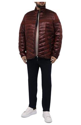 Мужская утепленная куртка BOGNER красного цвета, арт. 38436549   Фото 2 (Материал подклада: Синтетический материал; Материал внешний: Синтетический материал; Кросс-КТ: Куртка; Стили: Кэжуэл; Big sizes: Big Sizes; Длина (верхняя одежда): Короткие, До середины бедра; Мужское Кросс-КТ: пуховик-короткий; Рукава: Длинные)