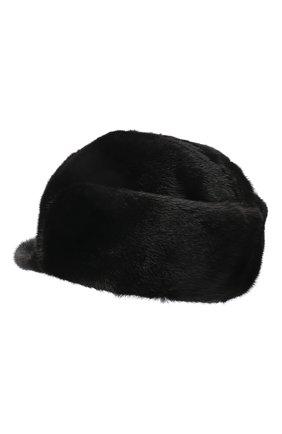Мужская норковая кепка KUSSENKOVV черного цвета, арт. 412800002120 | Фото 2 (Материал: Натуральный мех)