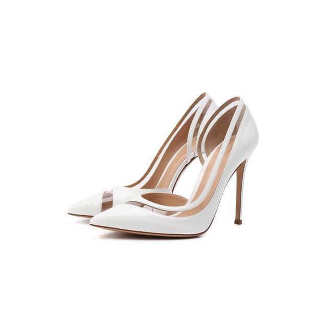Комбинированные туфли Gianvito Rossi