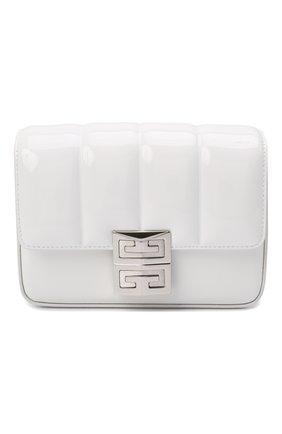 Женская сумка 4g small GIVENCHY белого цвета, арт. BB50KBB16S   Фото 1 (Материал: Натуральная кожа; Размер: small; Сумки-технические: Сумки через плечо)