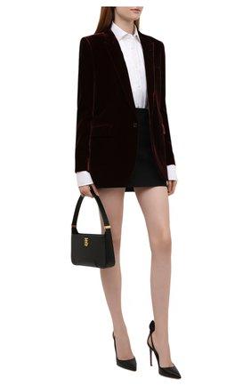 Женская хлопковая рубашка POLO RALPH LAUREN белого цвета, арт. 211815383 | Фото 2 (Материал внешний: Хлопок; Длина (для топов): Удлиненные; Рукава: Длинные; Женское Кросс-КТ: Рубашка-одежда; Стили: Классический)