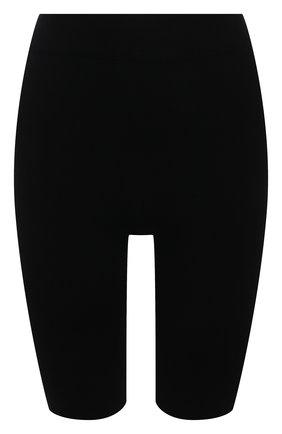 Женские шерстяные шорты MRZ черного цвета, арт. FW21-0034   Фото 1 (Материал внешний: Шерсть; Женское Кросс-КТ: Шорты-одежда; Стили: Спорт-шик; Длина Ж (юбки, платья, шорты): Мини)