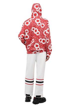 Мужская куртка PRADA LINEA ROSSA красного цвета, арт. SJC590-10QJ-F0976-212   Фото 2 (Материал внешний: Синтетический материал; Кросс-КТ: Куртка, Ветровка, другое; Стили: Спорт-шик; Длина (верхняя одежда): Короткие)