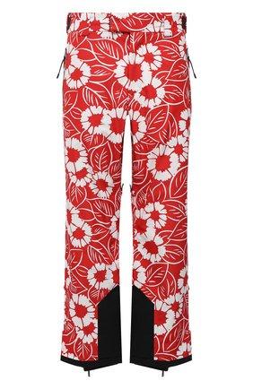 Мужские утепленные брюки PRADA LINEA ROSSA красного цвета, арт. SPH199-10QT-F0976-212   Фото 1 (Материал внешний: Синтетический материал; Кросс-КТ: другое; Стили: Спорт-шик)
