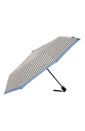 Женский складной зонт DOPPLER черно-белого цвета, арт. 7441465EL02   Фото 2 (Материал: Синтетический материал, Текстиль)