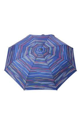 Женский складной зонт DOPPLER синего цвета, арт. 7441465DS02   Фото 1 (Материал: Синтетический материал, Текстиль)