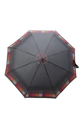 Женский складной зонт DOPPLER черного цвета, арт. 7441465A02   Фото 1 (Материал: Текстиль, Синтетический материал)