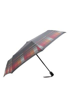 Женский складной зонт DOPPLER черного цвета, арт. 7441465A02   Фото 2 (Материал: Текстиль, Синтетический материал)
