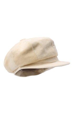 Женская кепка из меха норки KUSSENKOVV разноцветного цвета, арт. 121210012425   Фото 1 (Материал: Натуральный мех)