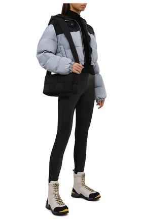 Женские замшевые ботинки bally hike BALLY светло-серого цвета, арт. BHW001/17 | Фото 2 (Каблук высота: Низкий; Подошва: Платформа; Материал внутренний: Текстиль; Женское Кросс-КТ: Хайкеры-ботинки; Материал внешний: Замша)