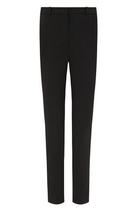 Женские хлопковые брюки LORO PIANA темно-серого цвета, арт. FAL4255 | Фото 1 (Материал внешний: Хлопок; Женское Кросс-КТ: Брюки-одежда; Силуэт Ж (брюки и джинсы): Узкие; Стили: Кэжуэл)