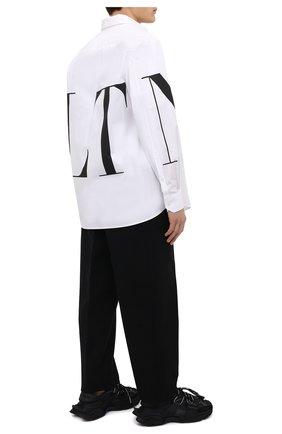 Мужские текстильные кроссовки space DOLCE & GABBANA черного цвета, арт. CS1963/AQ407 | Фото 2 (Материал внутренний: Текстиль, Натуральная кожа; Материал внешний: Текстиль; Подошва: Массивная; Стили: Гранж)