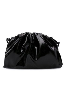 Женский клатч pouch mini BOTTEGA VENETA черного цвета, арт. 680186/V1C30 | Фото 1 (Материал: Натуральная кожа; Женское Кросс-КТ: Клатч-клатчи; Ремень/цепочка: На ремешке; Размер: mini)