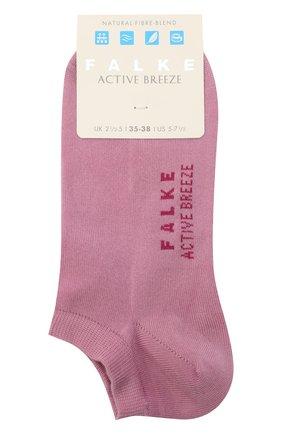 Женские носки active breeze FALKE светло-розового цвета, арт. 46124 | Фото 1 (Материал внешний: Лиоцелл, Синтетический материал)