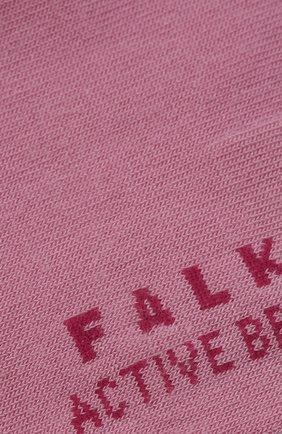 Женские носки active breeze FALKE светло-розового цвета, арт. 46124 | Фото 2 (Материал внешний: Лиоцелл, Синтетический материал)
