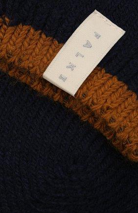 Женские носки FALKE темно-синего цвета, арт. 46380 | Фото 2 (Материал внешний: Синтетический материал, Шерсть)