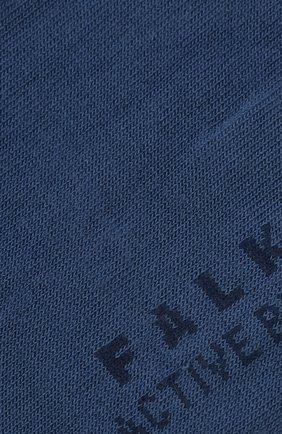 Женские носки active breeze FALKE голубого цвета, арт. 46124 | Фото 2 (Материал внешний: Лиоцелл, Синтетический материал)