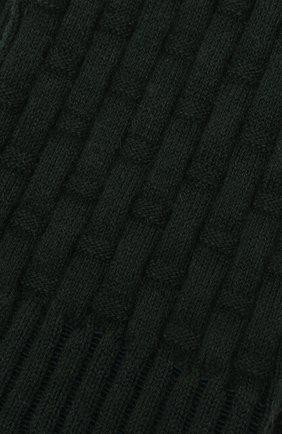 Женские носки из хлопка и шерсти FALKE зеленого цвета, арт. 46494 | Фото 2 (Материал внешний: Хлопок)