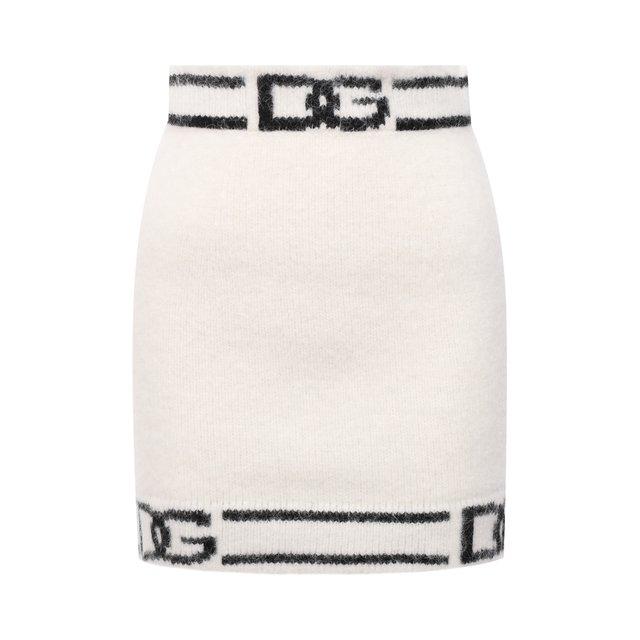 Юбка из шерсти и кашемира Dolce & Gabbana