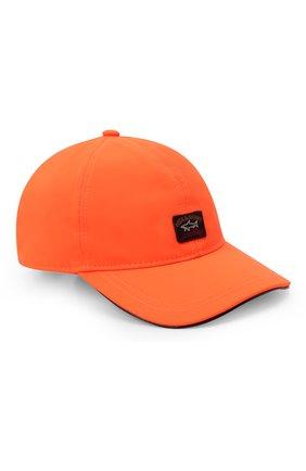 Мужской бейсболка PAUL&SHARK оранжевого цвета, арт. 11317104/DF | Фото 1 (Материал: Текстиль, Синтетический материал)