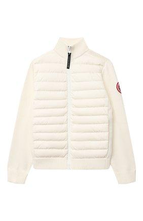 Шерстяная куртка с пуховым утеплителем | Фото №1
