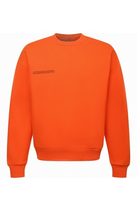 Мужские хлопковый свитшот PANGAIA оранжевого цвета, арт. 20FCU01-013-FE0R02 | Фото 1 (Стили: Спорт-шик)