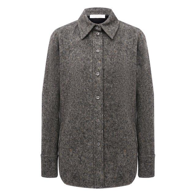 Рубашка из шерсти и шелка Chloe 12352890