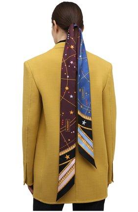 Шелковый шарф-бандо | Фото №2