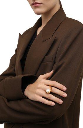 Женское кольцо DRIES VAN NOTEN золотого цвета, арт. 212-018802-062 | Фото 2 (Материал: Металл)