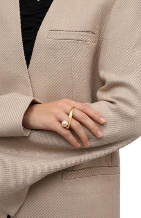 Женское кольцо DRIES VAN NOTEN золотого цвета, арт. 212-018803-062 | Фото 2 (Материал: Металл)