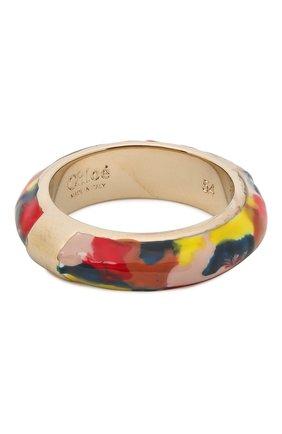 Женское кольцо CHLOÉ разноцветного цвета, арт. CHC21WFR92BLQ | Фото 1 (Материал: Металл)