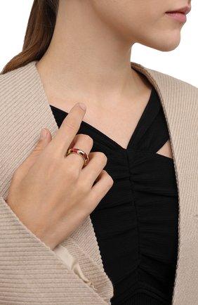 Женское кольцо CHLOÉ разноцветного цвета, арт. CHC21WFR92BLQ | Фото 2 (Материал: Металл)