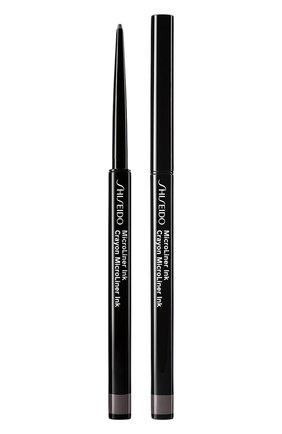 Тонкая подводка-карандаш для глаз microliner ink, 07 gray SHISEIDO бесцветного цвета, арт. 17724SH   Фото 1