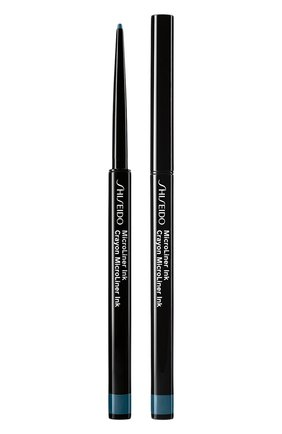 Тонкая подводка-карандаш для глаз microliner ink, 08 teal SHISEIDO бесцветного цвета, арт. 17725SH   Фото 1