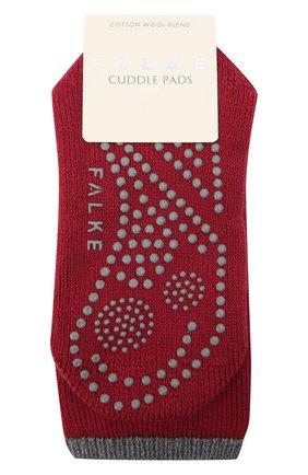 Женские носки FALKE красного цвета, арт. 47540   Фото 1 (Материал внешний: Хлопок)