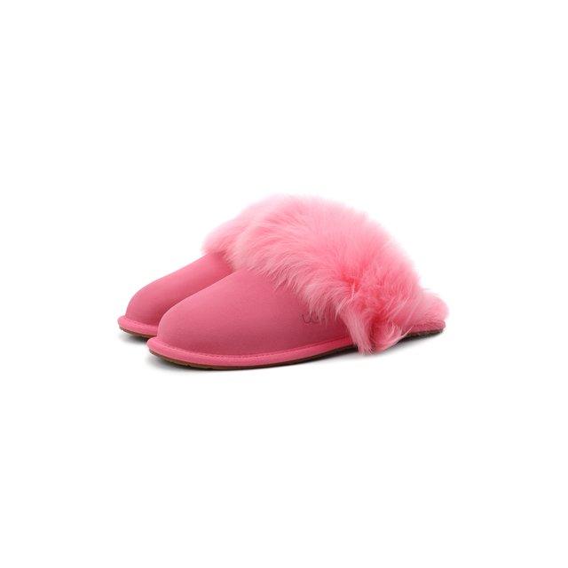 Замшевые домашние туфли Scuff UGG