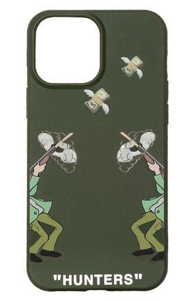 Чехол для iphone 13 pro max MISHRABOO зеленого цвета, арт. Hunters 13 Pro Max | Фото 1