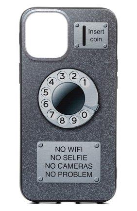 Чехол для iphone 13 pro max MISHRABOO серого цвета, арт. Taksofon 13 Pro Max | Фото 1