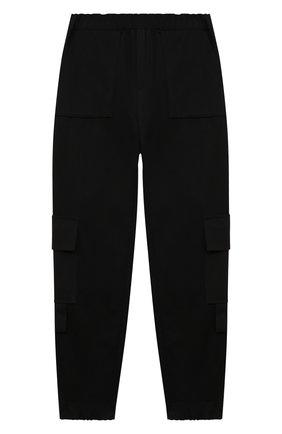 Детские брюки ZHANNA & ANNA черного цвета, арт. ZABK24090221 | Фото 1