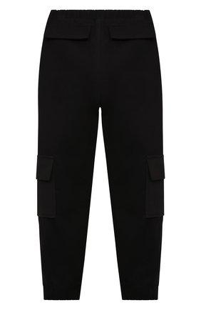 Детские брюки ZHANNA & ANNA черного цвета, арт. ZABK24090221 | Фото 2
