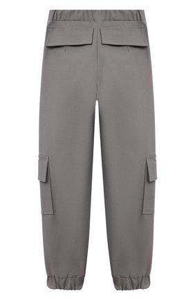 Детские брюки ZHANNA & ANNA серого цвета, арт. ZAGR21062021 | Фото 2