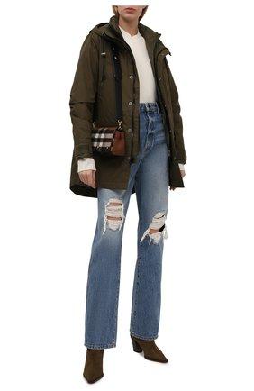 Женская комплект из парки и утепленной куртки POLO RALPH LAUREN зеленого цвета, арт. 211844802 | Фото 2 (Материал внешний: Синтетический материал, Хлопок; Длина (верхняя одежда): До середины бедра; Материал подклада: Синтетический материал; Рукава: Длинные; Кросс-КТ: Куртка; Стили: Спорт-шик)