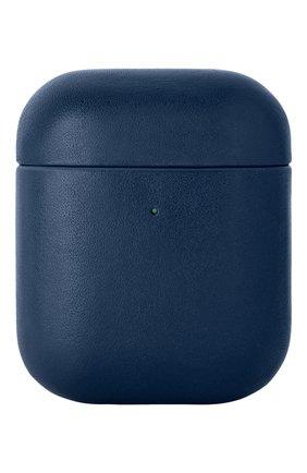 Чехол для airpods NATIVE UNION синего цвета, арт. APCSE-LTHR-BLU-AP | Фото 1