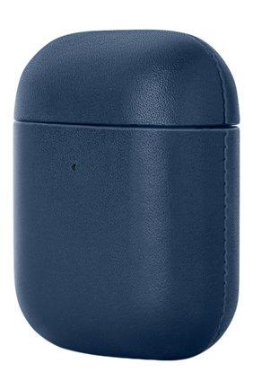 Чехол для airpods NATIVE UNION синего цвета, арт. APCSE-LTHR-BLU-AP | Фото 2