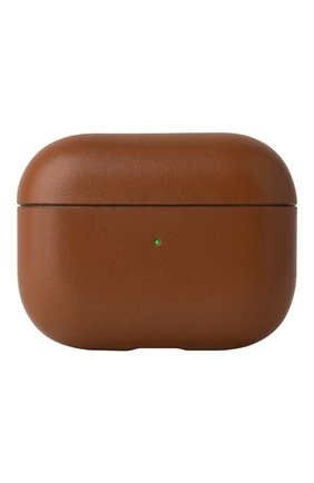 Чехол для airpods pro NATIVE UNION коричневого цвета, арт. APPRO-LTHR-BRN-AP | Фото 1