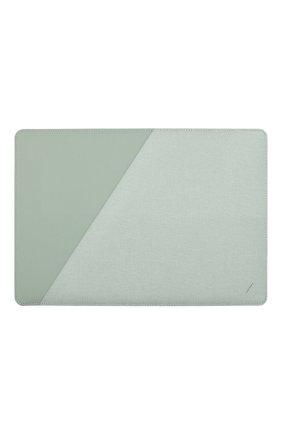 "Чехол для macbook air/macbook pro 13"" NATIVE UNION зеленого цвета, арт. STOW-MBS-GRN-FB-13 | Фото 1"